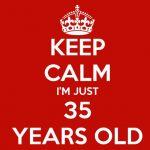 35 yaş